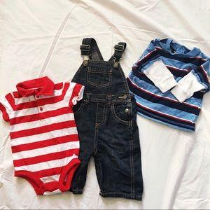 3-6 months boys bundle set